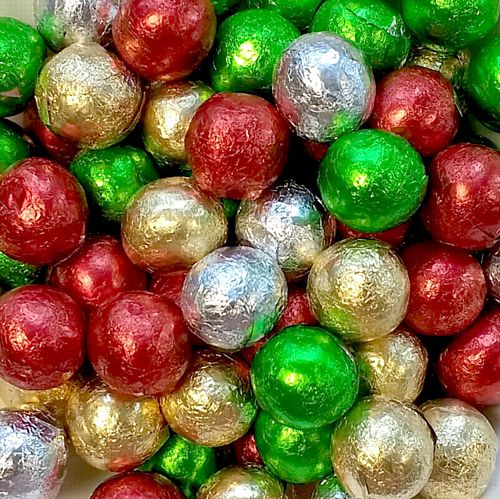 Christmas Chocolate Ball - Assorted - Each - 5g