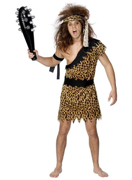 Caveman Costume with Accessories
