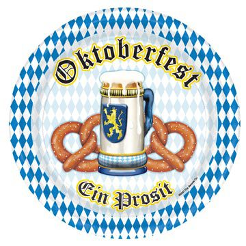 Click to view product details and reviews for Oktoberfest Paper Plates 229cm Pack Of 8.
