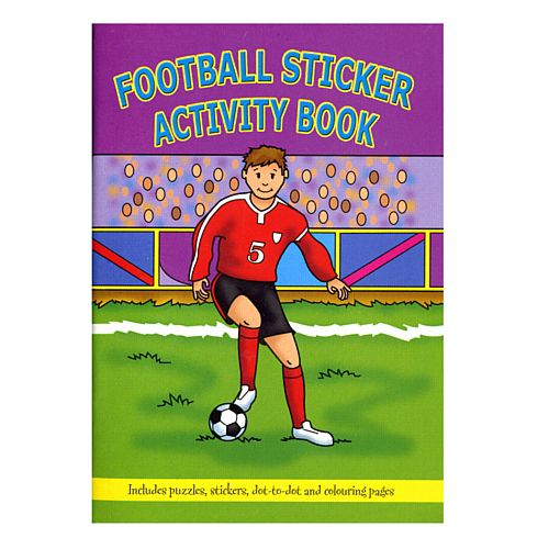Football Sticker Activity Book - 14.5cm