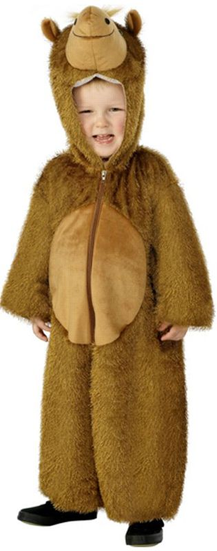Children's Camel Jumpsuit Costume