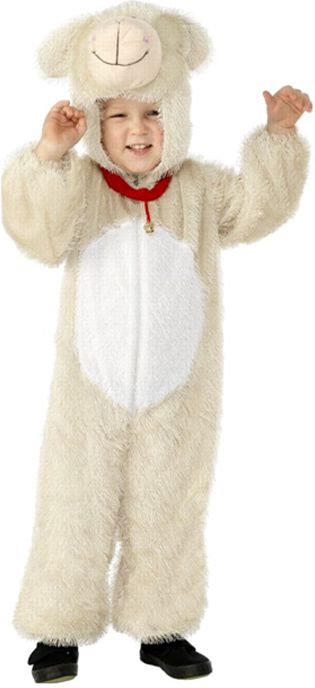 Children's Lamb Costume Jumpsuit