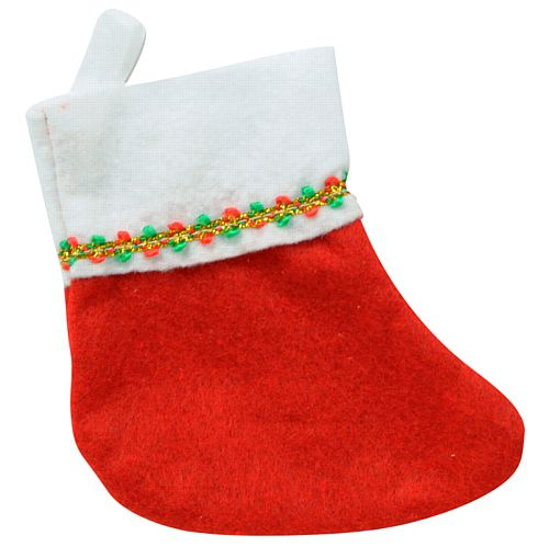 Mini Christmas Stockings - 15.2cm - Pack of 6