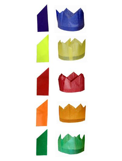 Cracker Paper Hat - Assorted Colours - Each