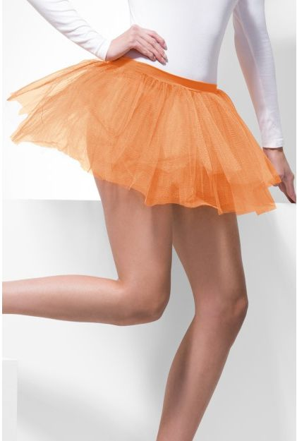 Click to view product details and reviews for Neon Orange Net Tutu One Size.