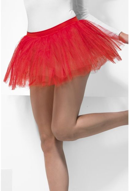 Red Net Tutu - One Size
