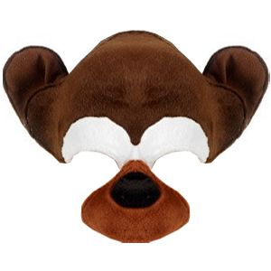 Chimp Plush Half Face Mask on Headband