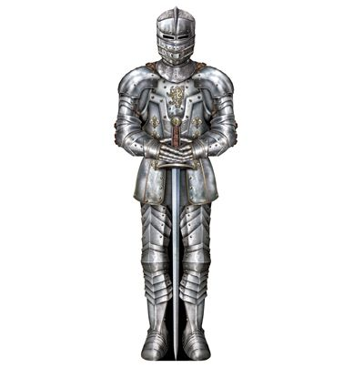 Suit of Armour Cutout - 91cm