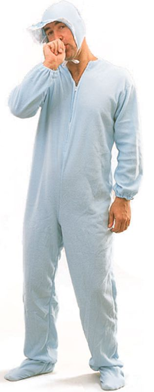 Baby Blue Sleepsuit Costume