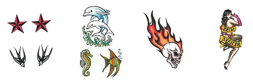 Assorted Design Tattoos - Designs Sold Individually