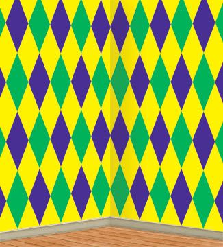Click to view product details and reviews for Mardi Gras Harlequin Backdrop 914m.