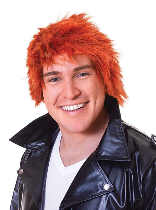 Men's Cropped Ginger Wig
