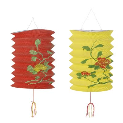 Chinese Lantern Paper Hanging Decoration - 23cm - Pack of 2