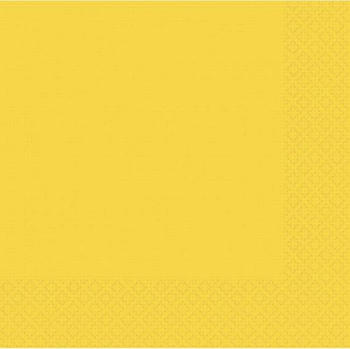 Golden Yellow 2 Ply Dinner Napkins - Pack of 20 - 40cm