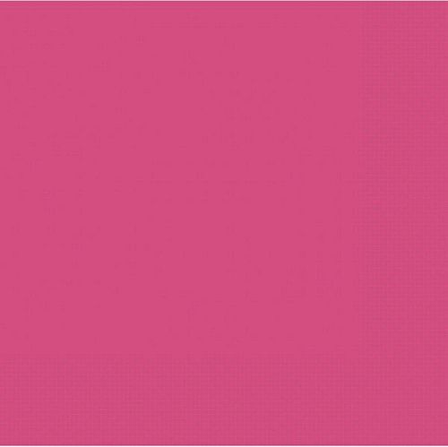 Hot Pink 3 Ply Dinner Napkins - Pack of 20 - 40cm