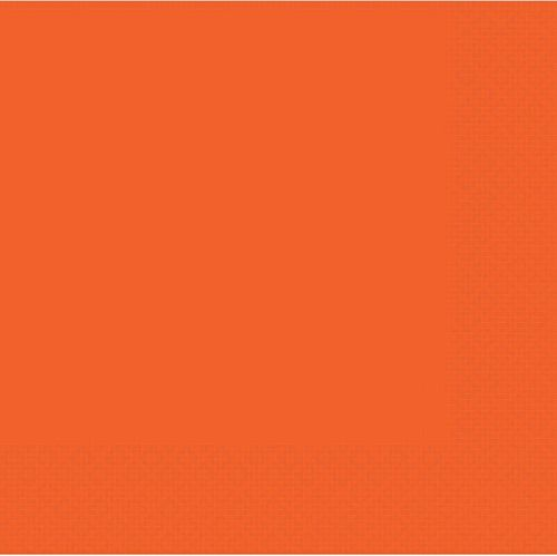 Bittersweet Orange 2 Ply Dinner Napkins - Pack of 20 - 40cm