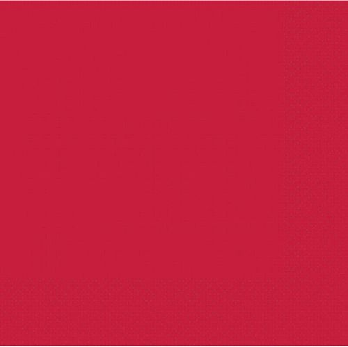 Red 2 Ply Dinner Napkins - Pack of 20 - 40cm