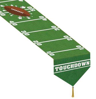 American Football Game Day Paper Table Runner - 1.83m