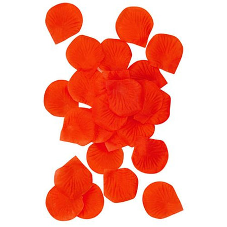 Red Silk Rose Petals - Pack of 150