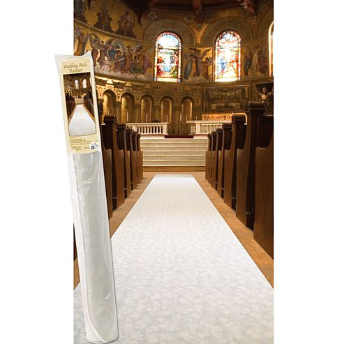 "Elite Collection Aisle Runner - 36"" x 100'"