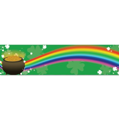 St Patrick's Magic Themed Banner 120cm x 30cm
