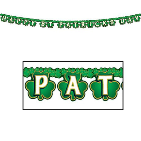 Click to view product details and reviews for Shamrock Happy St Patricks Day Streamer.
