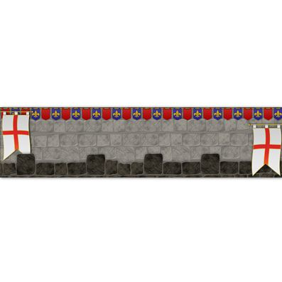 St George's Day Themed Banner - 120 x 30cm