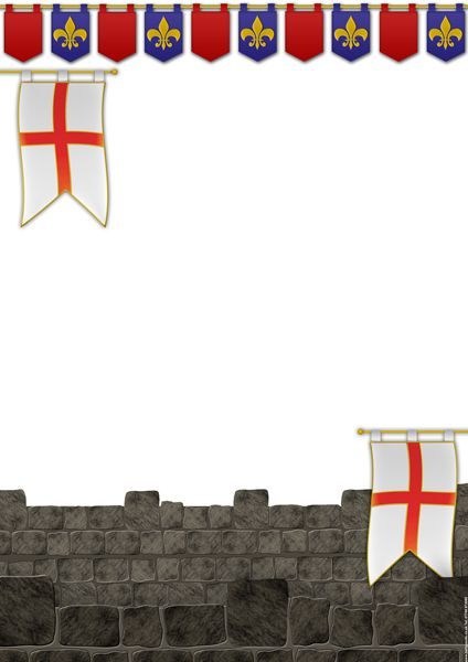 St Georges Day Themed Poster