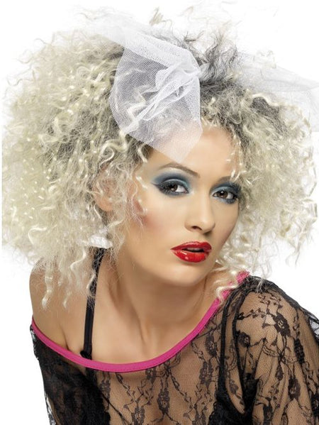 Click to view product details and reviews for 80s Wild Child Wig With Bow.