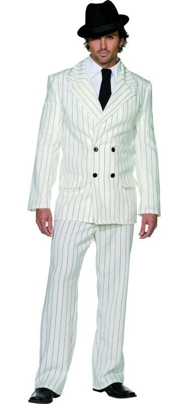 White Gangster Costume