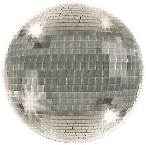 Disposable Disco Ball Coasters - Pack of 8 - 8.9cm