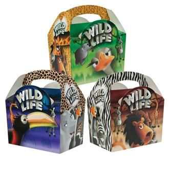 Wildlife Party Box - Each