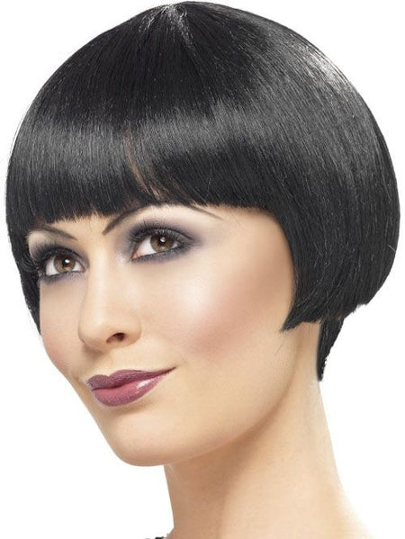 Click to view product details and reviews for 1920s Flapper Bob Wig Black.