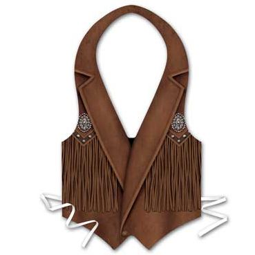 Click to view product details and reviews for Plastic Cowboy Waistcoat Each.