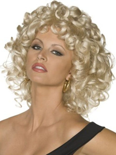 Click to view product details and reviews for Sandy Grease Last Scene Wig.