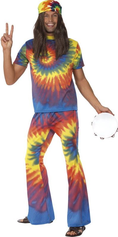 Hippie Tie Dye Top and Flares