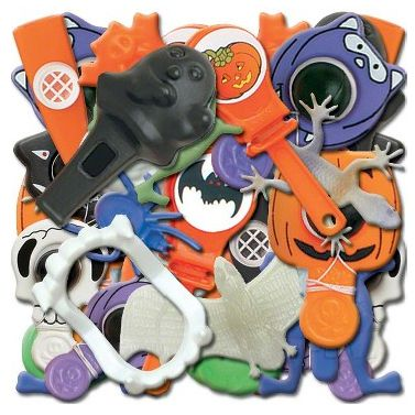 Halloween Favour Assortment - 72 Pieces