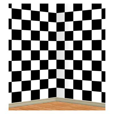 Checkered Backdrop - 121cm x 9.1m