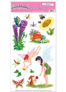 Fairies and Friends Peel 'n' Place - 12'' x 24''