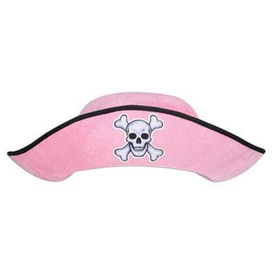 Felt Pink Pirate Hat