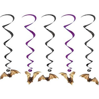 "Bat Whirls - 3' 4"" - Pack of 5"