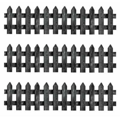 Picket Fence Cutouts - 30cm x 60cm - Pack of 3