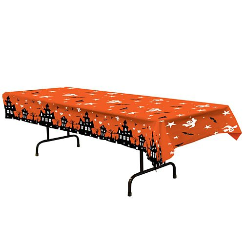 Haunted House Tablecloth - 2.74m
