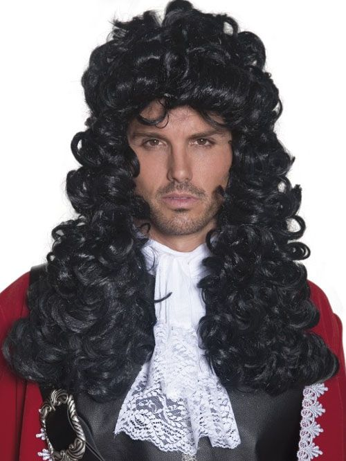 Authentic Pirate Captain Hook Wig