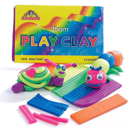 Play Clay - 6 Colours - 35g