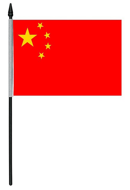 Click to view product details and reviews for Chinese Cloth Table Flag 4 X 6.