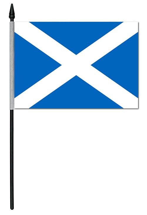 "St. Andrew's Cloth Table Flag - 4"" x 6"""