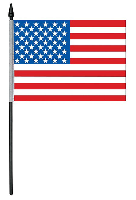 American Cloth Table Flag - 15cm