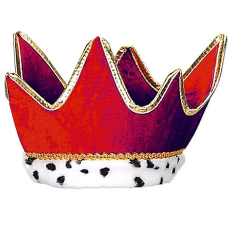 Plush Red Crown