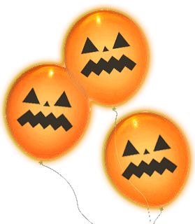 "Pumpkin Illooms 9"" Pack of 5"